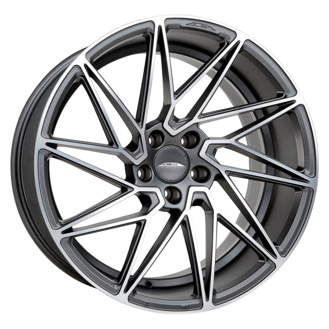 ACE ALLOY DRIVEN (True Directional) - Matte Mica Grey w/Machined Face