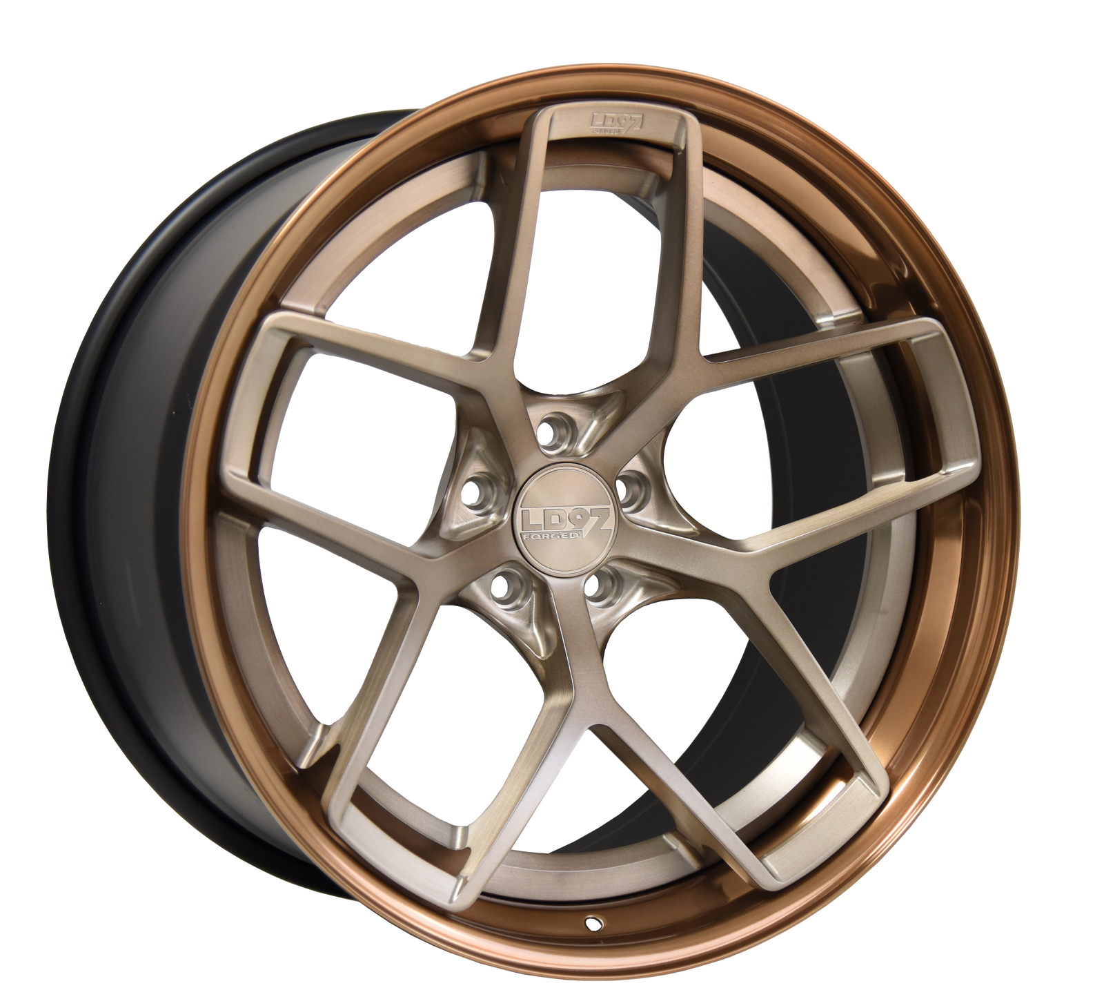 LD97 FORGED LD02.5  OLIVE BRONZE, LIQUID BRONZE OUTER.