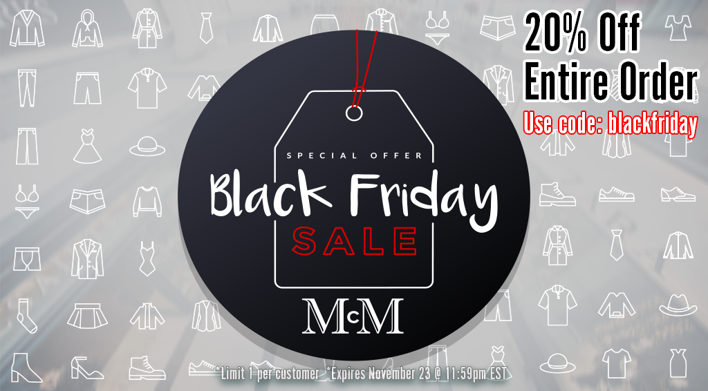 Blackfriday Sale - Ends tonight EST 11:59pm!