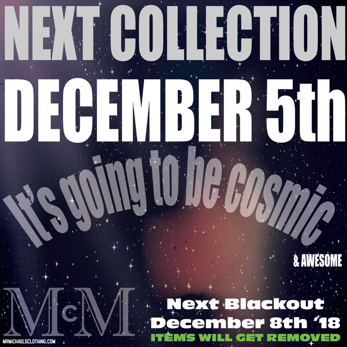 NEW Collection Dec 5th!