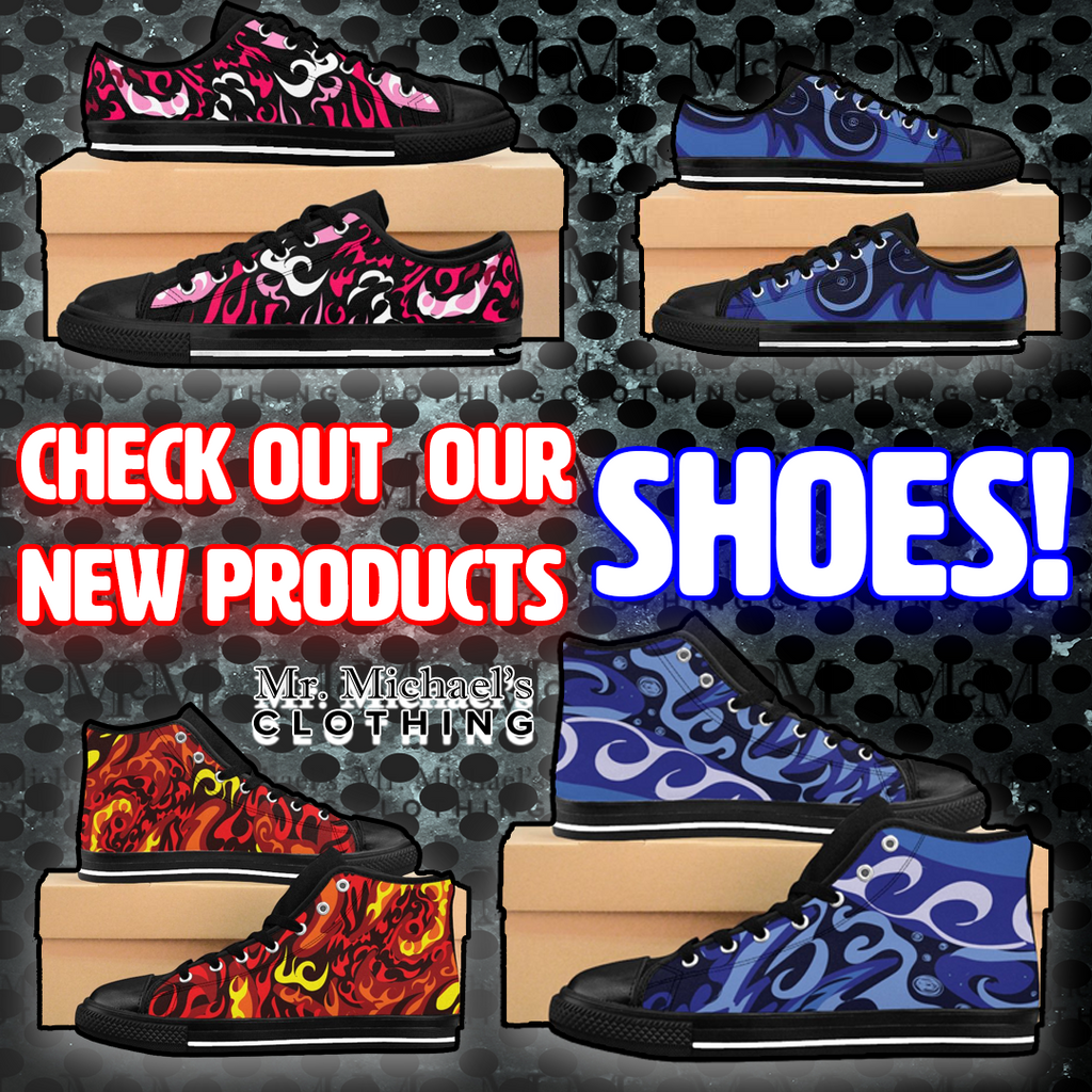 New product line, shoes! Check them out!