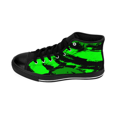 GREEN BASH - Men's High-top Sneakers