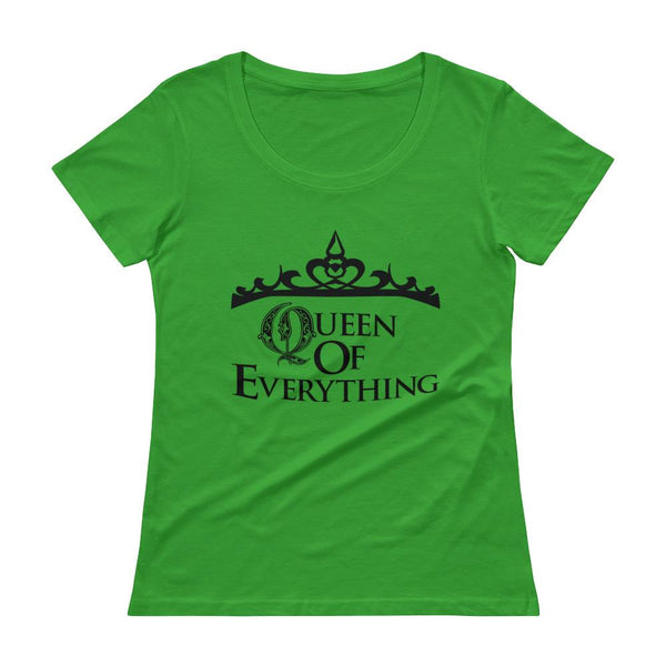 QoE - Woman's Scoopneck Tee - (3 Colors) - Mr. Michael's Clothing