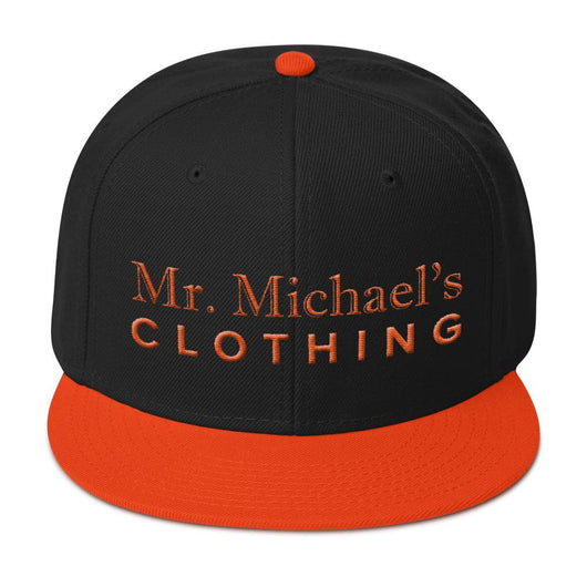 Mr. Michael's Clothing - Otto Cap - Premium Snapback - O/B - Mr. Michael's Clothing
