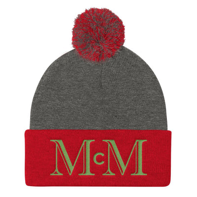 MMC Holiday Snow Hat R/G - Mr. Michael's Clothing