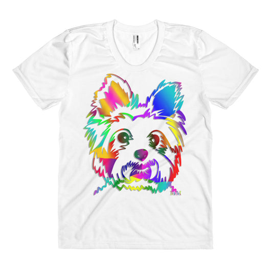 YORKIE ColorBlast - Women's Sublimation TShirt - Mr. Michael's Clothing