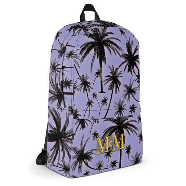Palm Tree's Everywhere - Backpack - Mr. Michael's Clothing