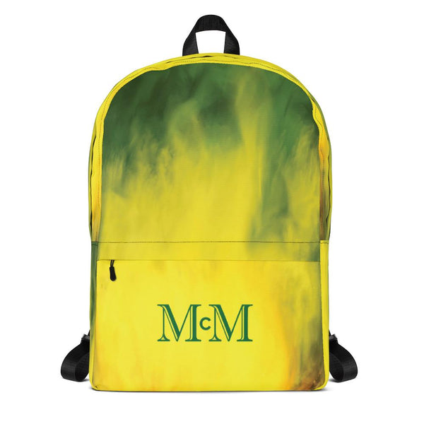 Green-Yellow FLOW - Backpack - Mr. Michael's Clothing