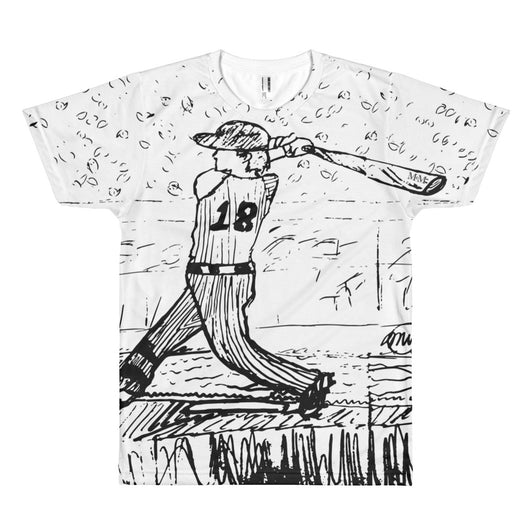 Baseball - Men's Sublimation Tee - Mr. Michael's Clothing