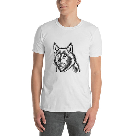 Husky - T-Shirt - Black\White - Mr. Michael's Clothing