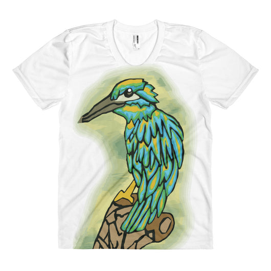 Colorful Bird - Women's Sublimation Tee - Mr. Michael's Clothing