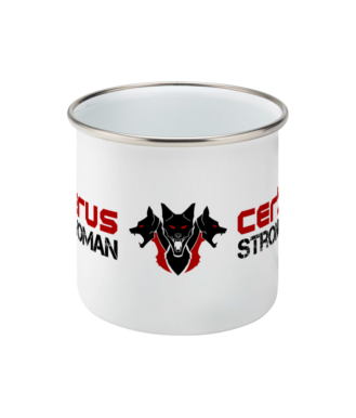 Image of Strongwoman Enamel Mug