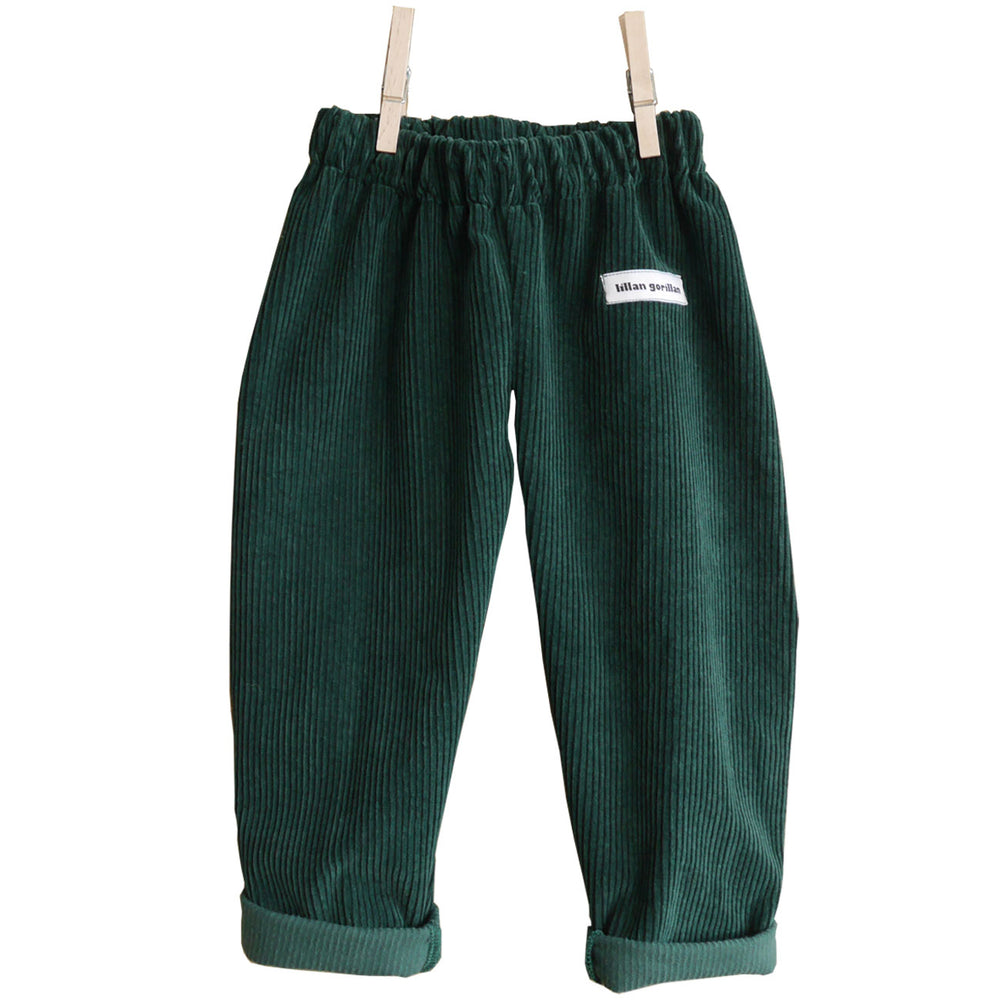 Bottle Green Corduroy Trouser