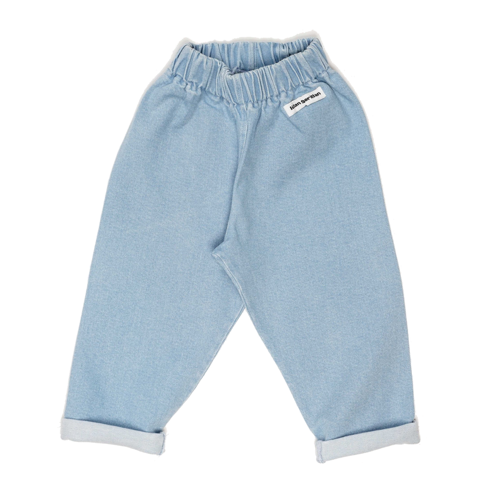 Denim trousers - light wash