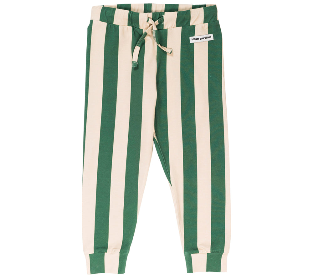 Green Stripe Joggers