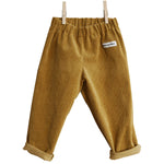 Mustard Yellow Corduroy Trouser
