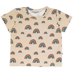 The beige rainbow t-shirt