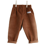 Rust Brown Corduroy Trouser