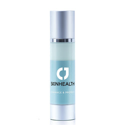 CJ Skinhealth Enhance & Protect Moisturiser Hyaluronic acid, vitamin C, vitamin E, DMAE, aloe vera, hydrolysed wheat protein, retinyl palmitate, glycerin and SPF 30 UVA broad spectrum non-comedogenic sunscreen.