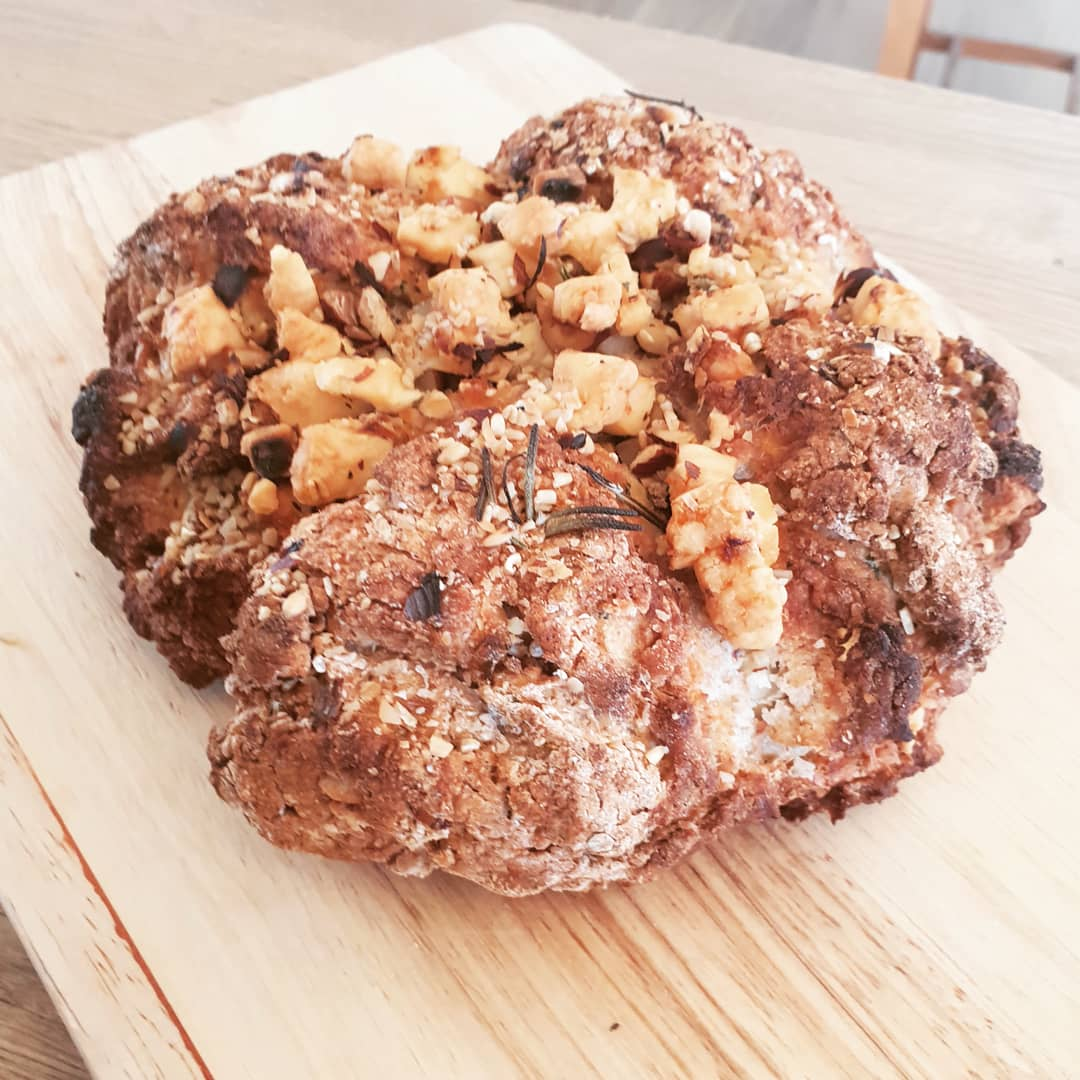 Jekka's Rosemary and Cheese Soda Bread