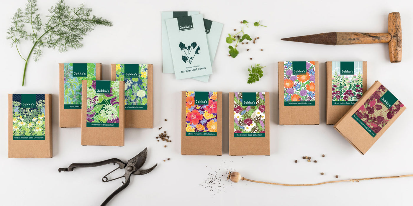 Jekka's herb seed collections