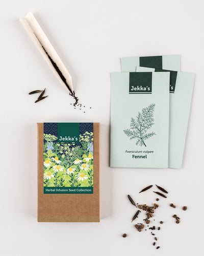 Jekka's Herbal Infusion Seed Collection