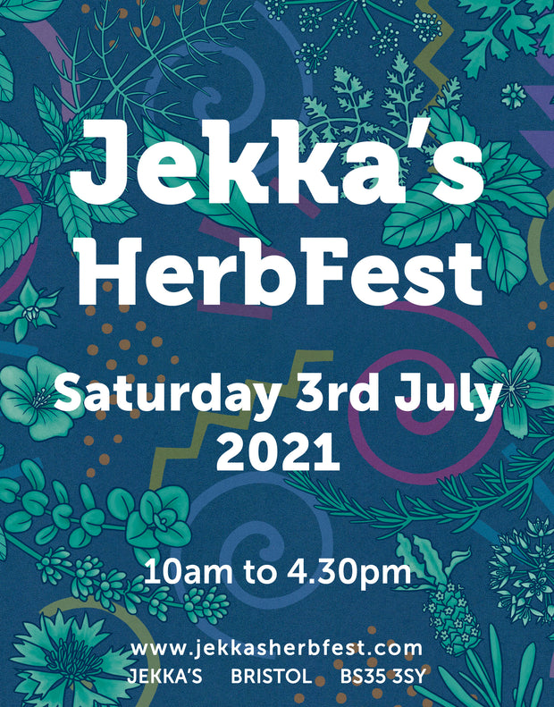 Jekka's HerbFest Saturday 3rd July 2021 Tickets