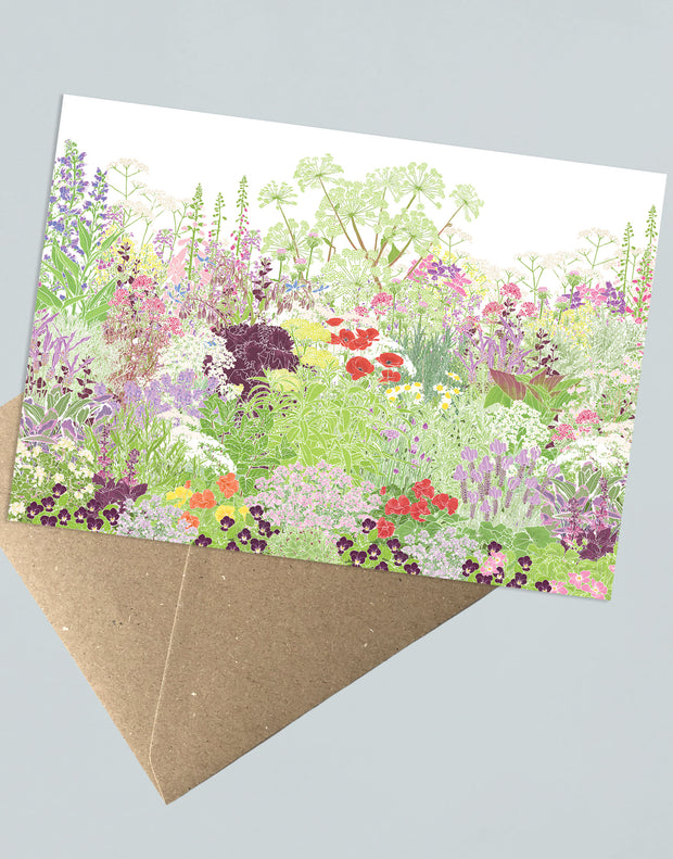 Jekka's Herb Garden Greeting Card