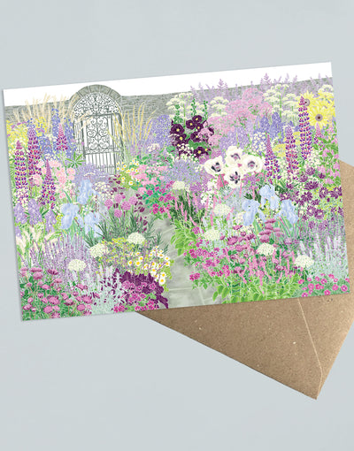 My Secret Garden Greeting Card