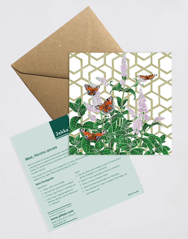 Mint Recipe Greeting Card