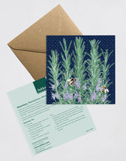 Rosemary Recipe Greeting Card
