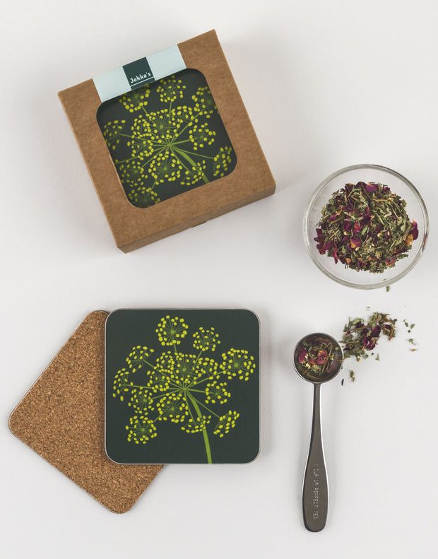Coasters, set of 6