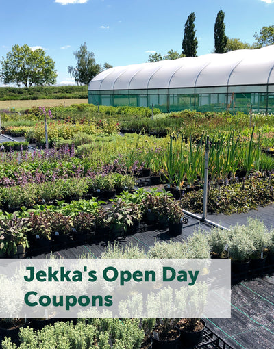 Jekka's Open Day Coupons - Thursday 4th June