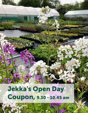 Jekka's Open Day Coupons - Saturday 6th June