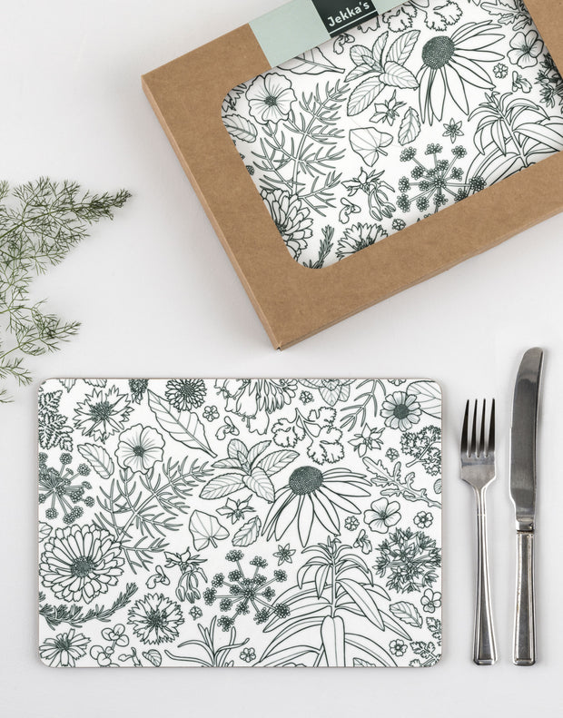 Placemats, set of 6