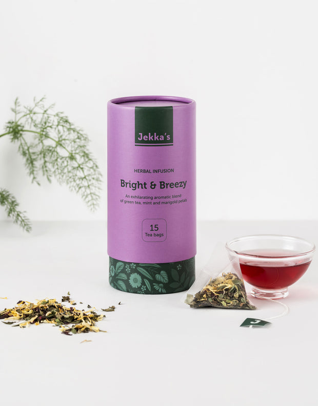 Bright and Breezy Herbal Infusion