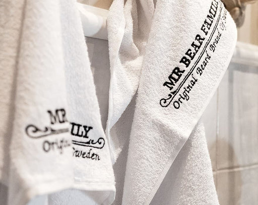 Mr. Bear Family - Barber Towel