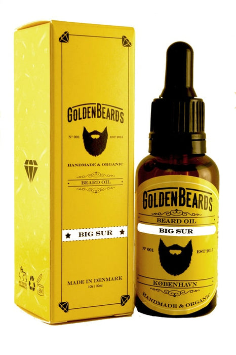 Golden Beards - Beard Oil