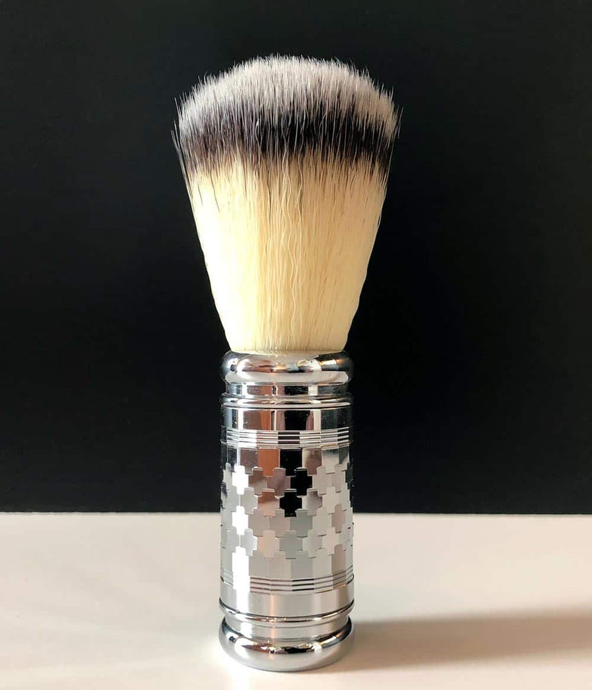 "Pearl Shaving - ""Hexagon Chrome"" Syntetisk bust"