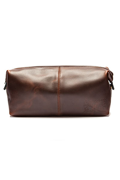 Apothecary 87 - Leather Wash Bag