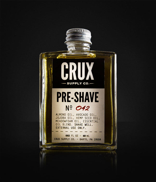 CRUX Supply Co. - Pre-Shave Oil-514
