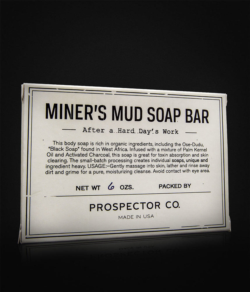 Prospector Co. - Miners Mud Soap Bar-407