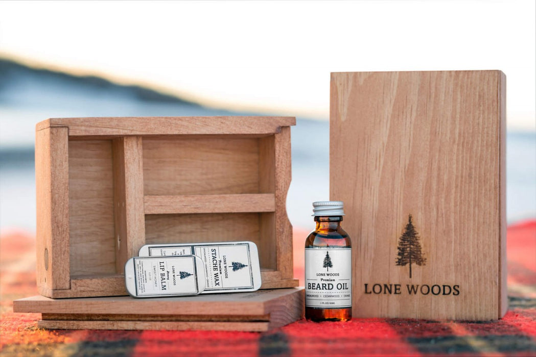 Lone Woods - Beard Box Kit