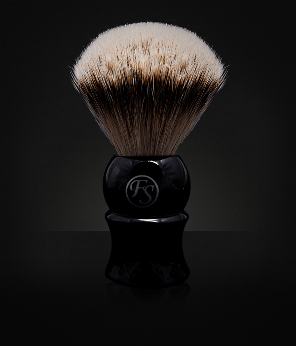 Frank Shaving Richmond Black Silvertip-22