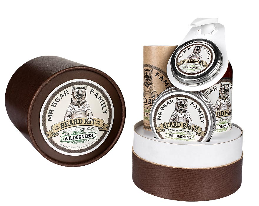 Mr. Bear Family - Beard Kit-788