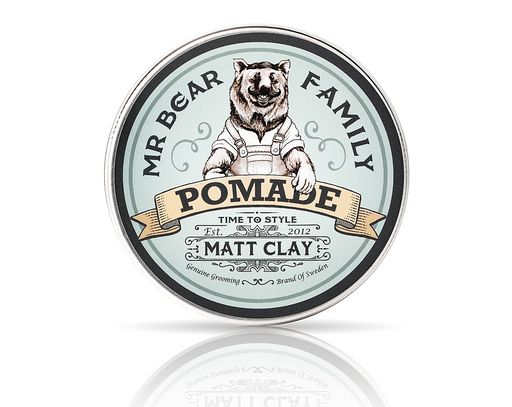 Mr. Bear Family - Pomade Matt Clay Springwood
