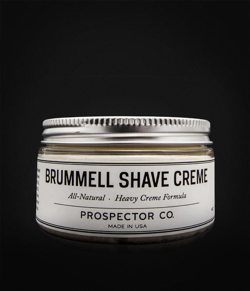 Prospector Co. - Brummel Shaving Cream