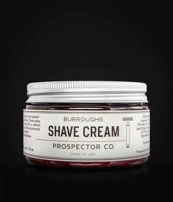 Prospector Co. - Burroughs Shave Cream