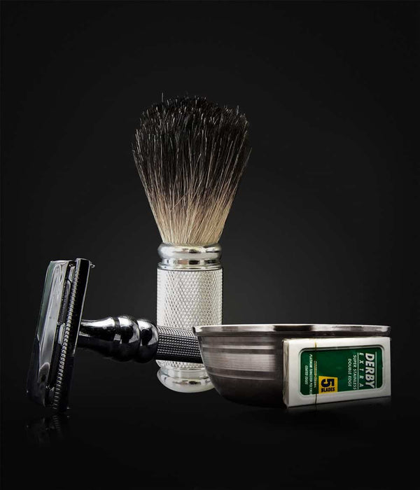 Barbersett - Pearl Shaving