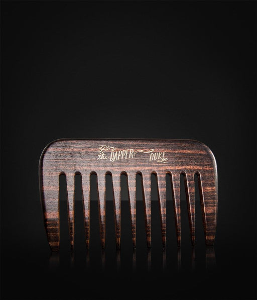 The Dapper Duke - Wooden Comb (grov)